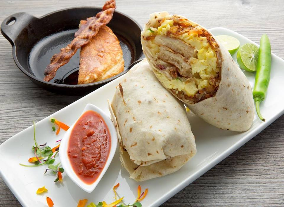 Lit Cafe Breakfast Burrito