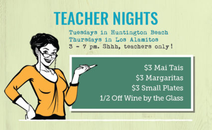 Teacher Nights @ Mama's Comfort Food & Cocktails - Los Alamitos | Los Alamitos | California | United States