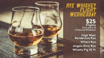 Rye Whiskey Flight Wednesday @ Wild Goose Tavern - Costa Mesa | Costa Mesa | California | United States