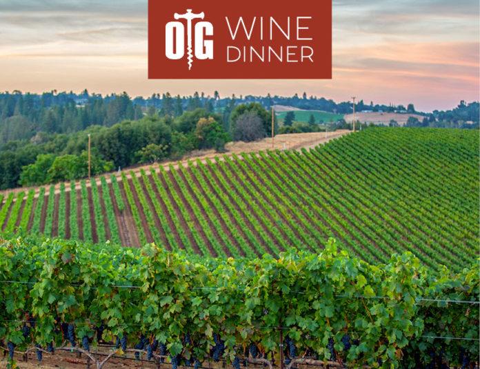 Oak Grill Wine Dinner