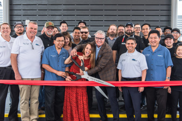 Steel Craft Bellflower Opening