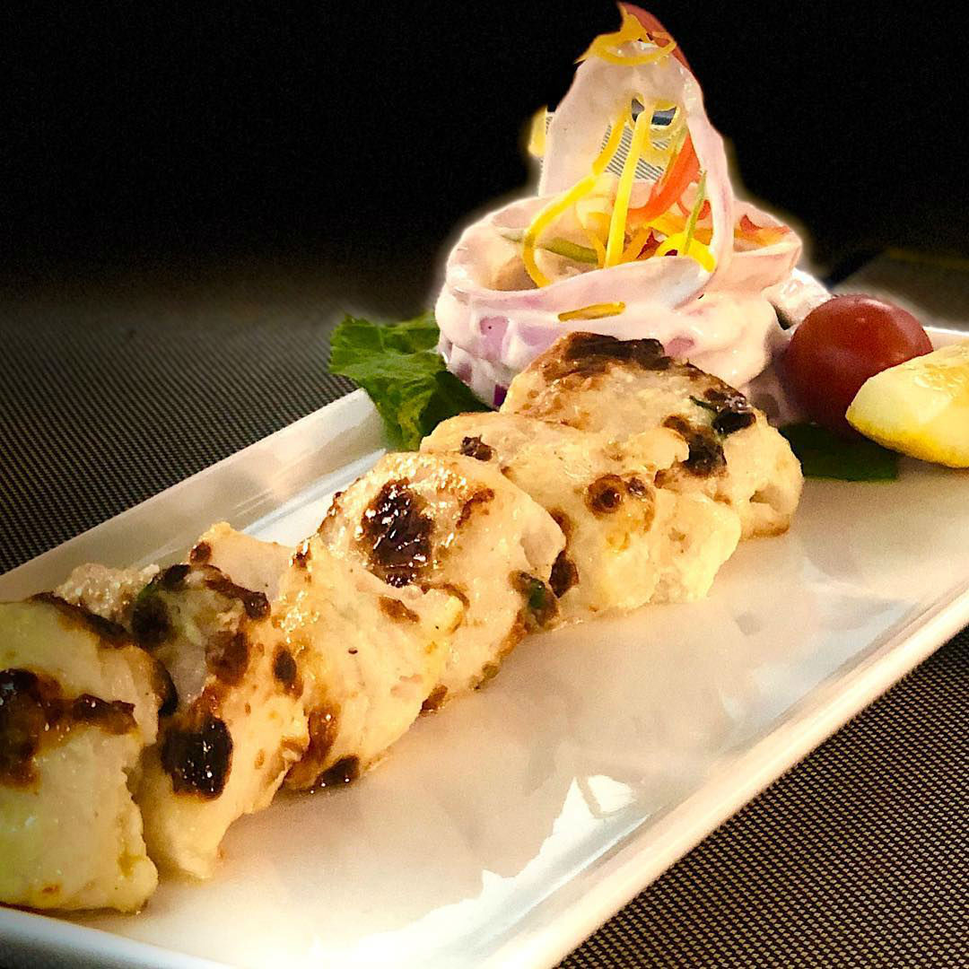 Yellow Chilli Creamy Fish Tikka