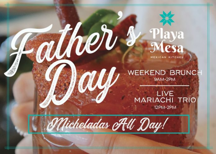 Father's Day Brunch Playa Mesa