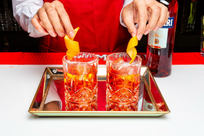 Inspire Artistic Minds Negroni Week Bartender's Competition