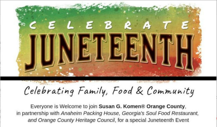Juneteenth Celebration Anaheim Packing District