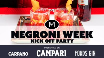Negroni Week Kick-Off Party @ Michael's on Naples Ristorante - Long Beach