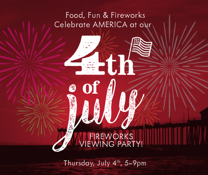 Pacific Hideaway 4th Of July