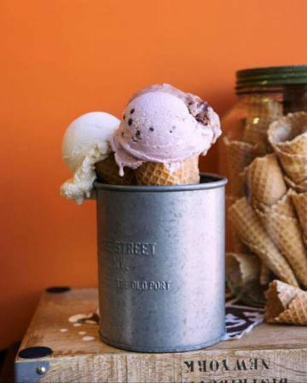 Rori's Artisanal Creamery Ice Cream Cone
