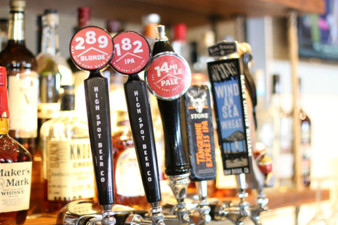 Bluewater Grill Beer Taps