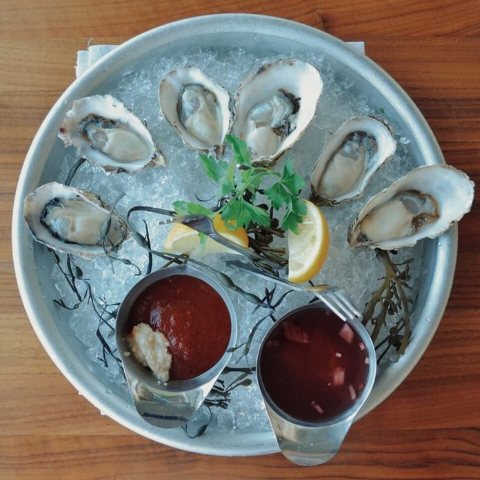 Bluewater Grill Oysters