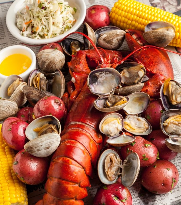 Bluewater Grill Seafood Boil