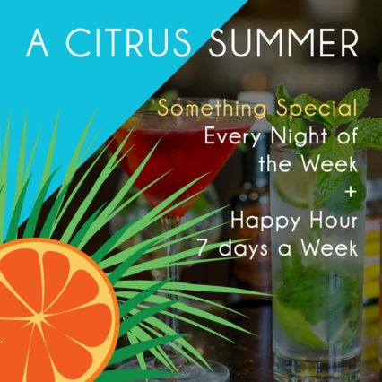 Friday + Saturday Night Prix Fixe @ Citrus City Grille - Orange