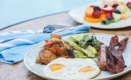 Summer Breakfast Buffet @ Coliseum Pool & Grill at The Resort at Pelican Hill - Newport Beach