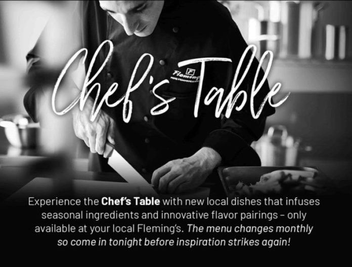 Fleming's Chef's Table