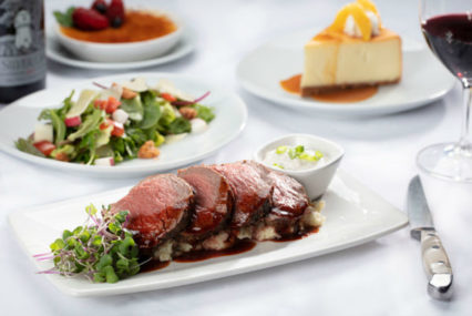 The Sunday Table: Three Course Meal @ Flemings Prime Steakhouse - Newport Beach | Newport Beach | California | United States