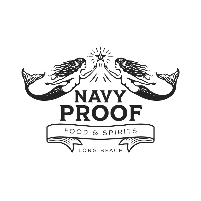 Navy Proof Food and Spirits Logo