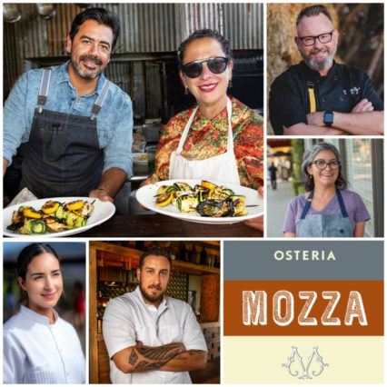 Lunch With Chef Nancy Silverton @ Osteria Mozza | Los Angeles | California | United States