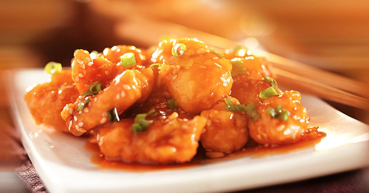 Fortune Cookies Crispy Orange Chicken