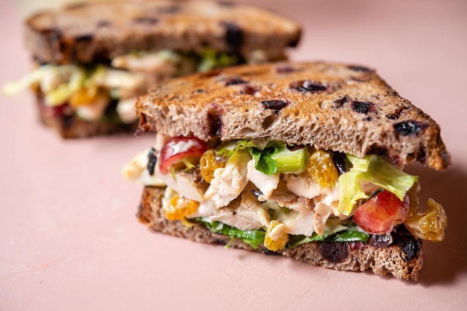 Noble Bird Chicken Salad Sandwich
