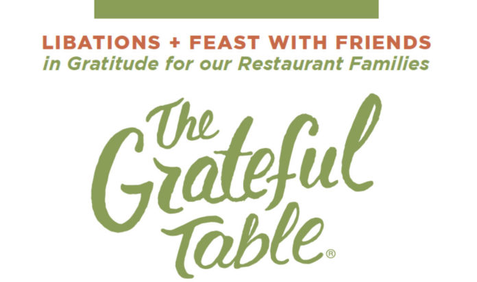 The Grateful Table Benefit