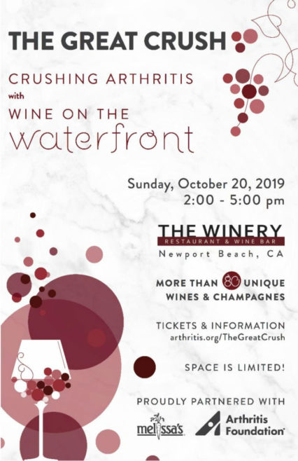 Wine Tasting Fundraiser @ Winery Restaurant & Wine Bar (The) - Newport Beach | Newport Beach | California | United States