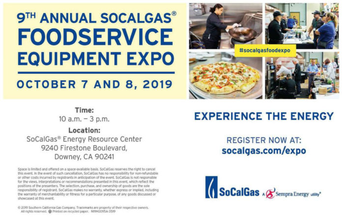 2019 Foodservice Equipment Expo