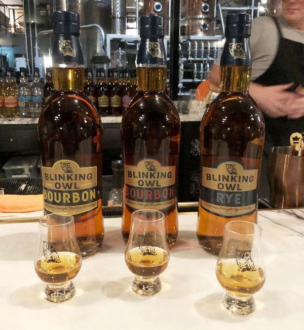 Blinking Owl Distillery Whiskey Tours