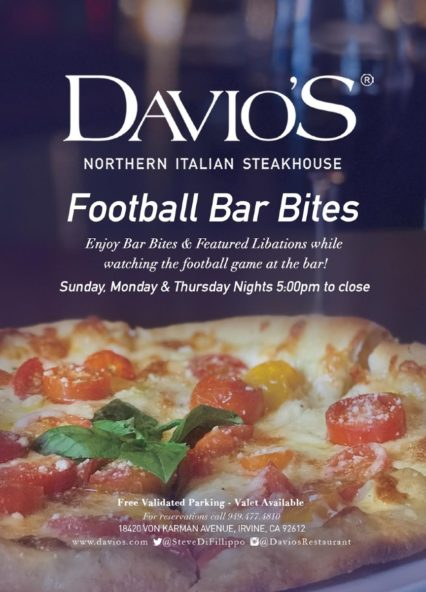 Football Bar Bites - Sunday