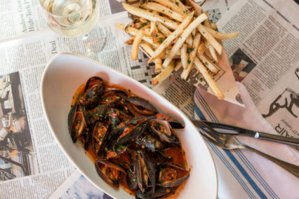 A.Y.C.E. Local Mussels @ Eats Kitchen & Bar at Hotel Irvine – Irvine | Irvine | California | United States