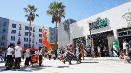 Traditional Chinese Lion Dance To Bless Anniversary @ Loose Leaf Boba Company - Long Beach | Long Beach | California | United States