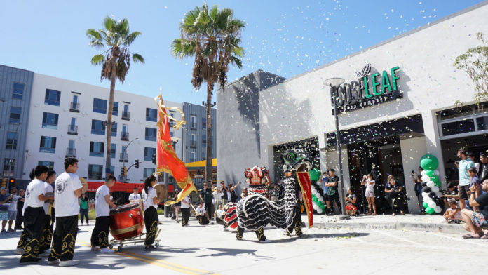 Loose Leaf Boba Company At The Streets Grand Opening Chinese Lion Dance On September 15 2018 Photo
