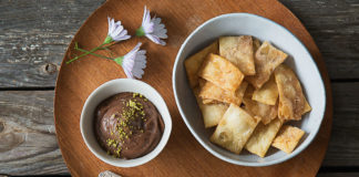 Sajj Chocolate Hummus