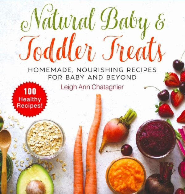 Natural Baby & Toddler Treats Cover