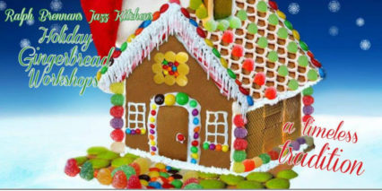 Holiday Gingerbread Workshop @ Ralph Brennan's Jazz Kitchen - Anaheim