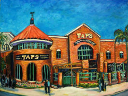 Taps Fish House Painting