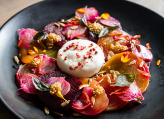 Beet & Burrata Five Crowns Fall 2019