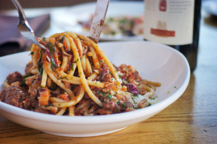 Celebrating National Pasta Day @ Brunos Italian Kitchen - Brea