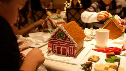 Gingerbread House Decorating @ Fashion Island Hotel (The) - Newport Beach