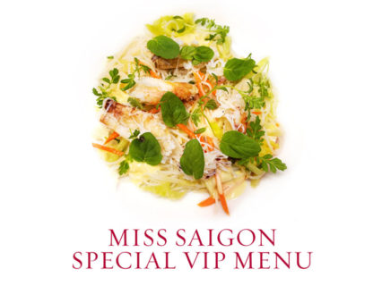 Miss Saigon Special VIP Menu! @ Leatherby's Cafe Rouge - Costa Mesa | Costa Mesa | California | United States