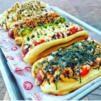 Pop-Up Hotdog Cart - Sunday @ Pacific City - Huntington Beach