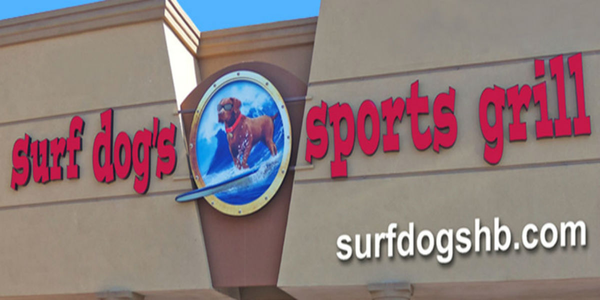 Surf Dog's Sports Grill Logo