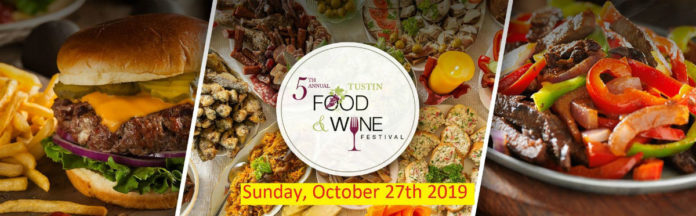 Tustin Food Wine Festival 5th Year