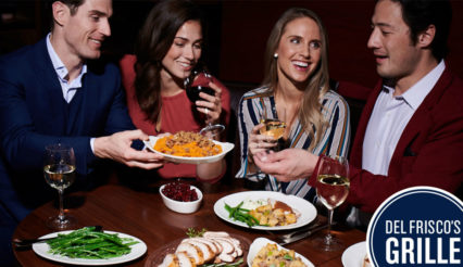A Friendsgiving Feast @ Del Frisco's Grille - Irvine