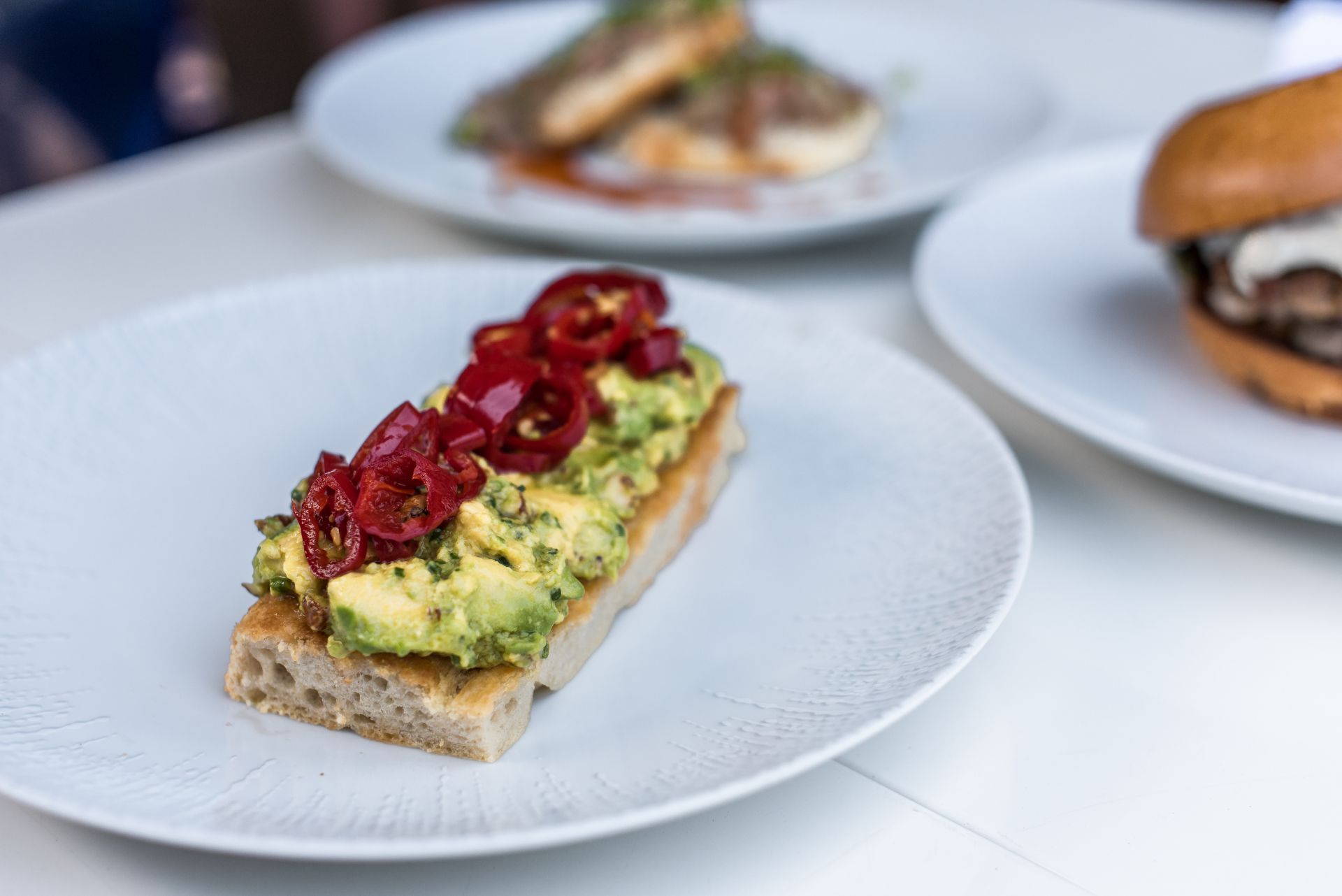 Bello Toast All'Avocado Burger Biscuits