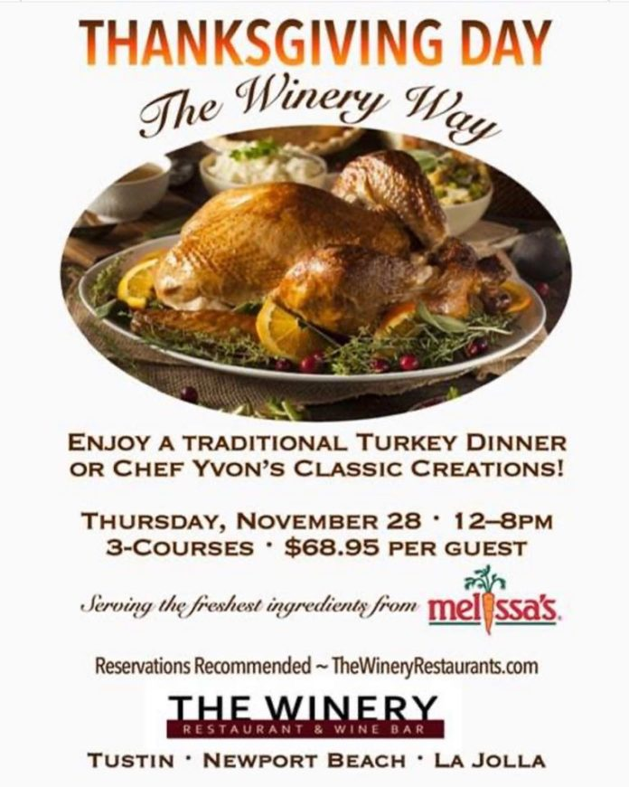 The Winery Traditional Or Chef Creations
