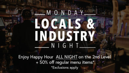 All Day Happy Hour on Mondays for Industry Night @ Mozambique | Laguna Beach | California | United States
