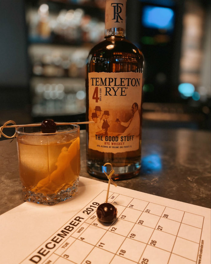 Eureka Repeal Day Old Fashioned