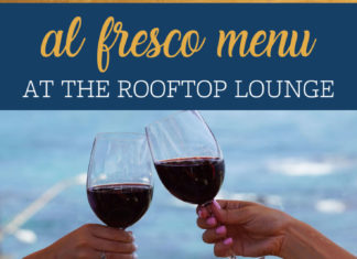Rooftop Lounge Al Fresco Menu