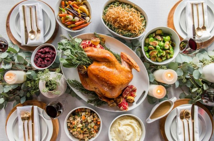Sapphire Thanksgiving To Go