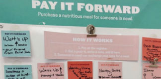 Everytable Pay It Forward Notes